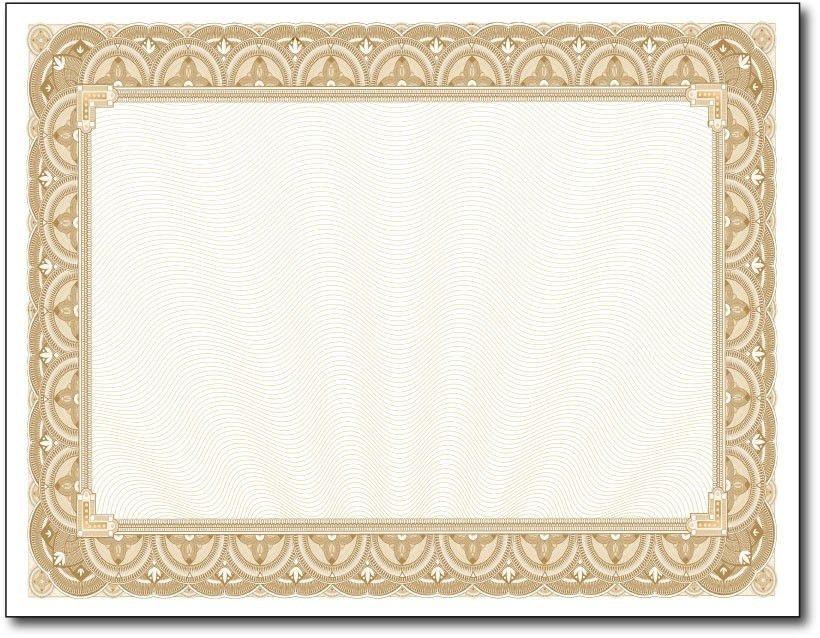blank school certificate templates