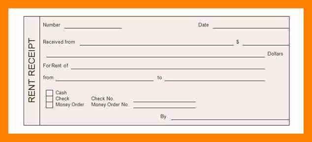 5+ rent receipt example   resumed job