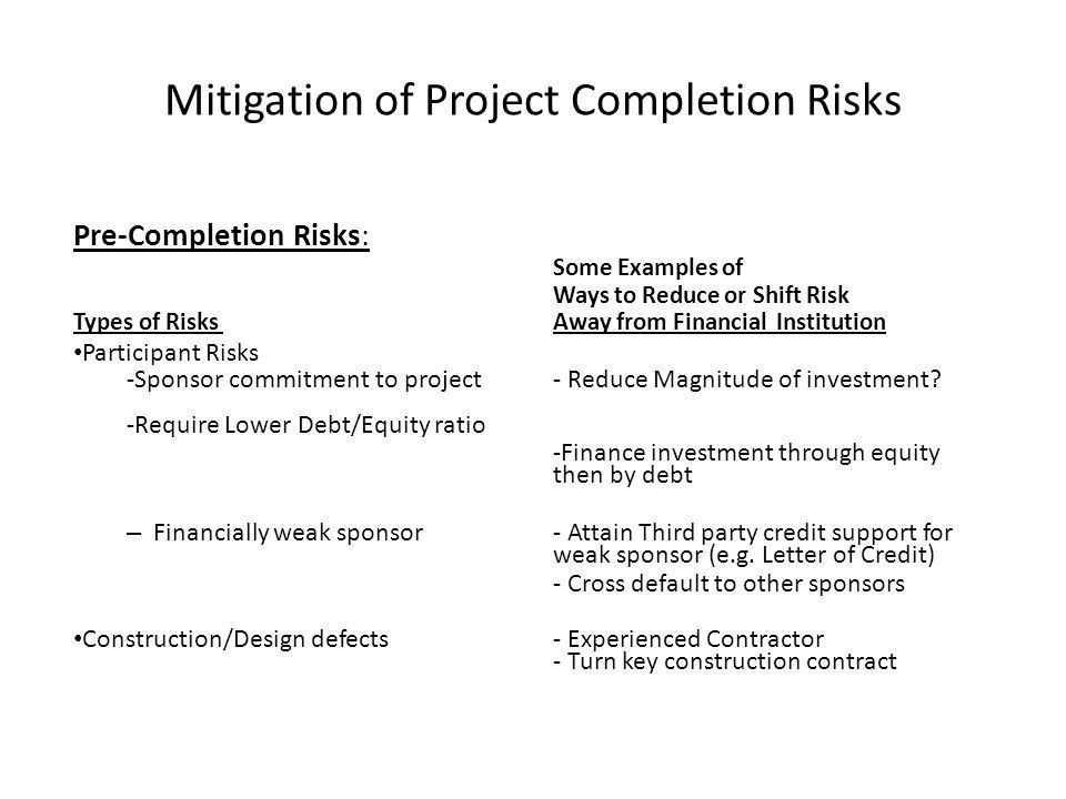 INFRASTRUCTURE PROJECT FINANCE - ppt download