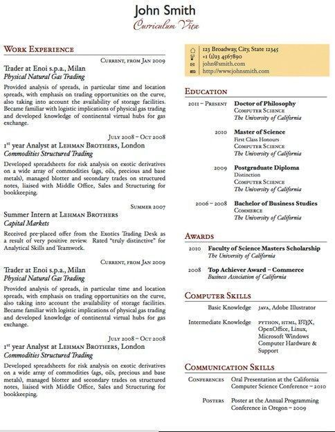 about cv template. latex cv resume templates. experienced latex ...