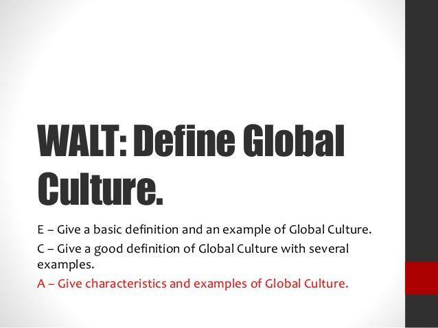 1205 Sociology Global Culture