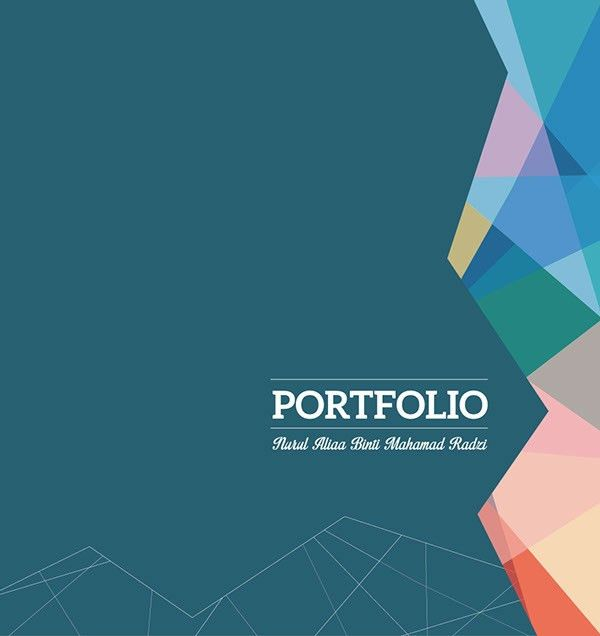 This is my personal portfolio design. I did this for my final ...