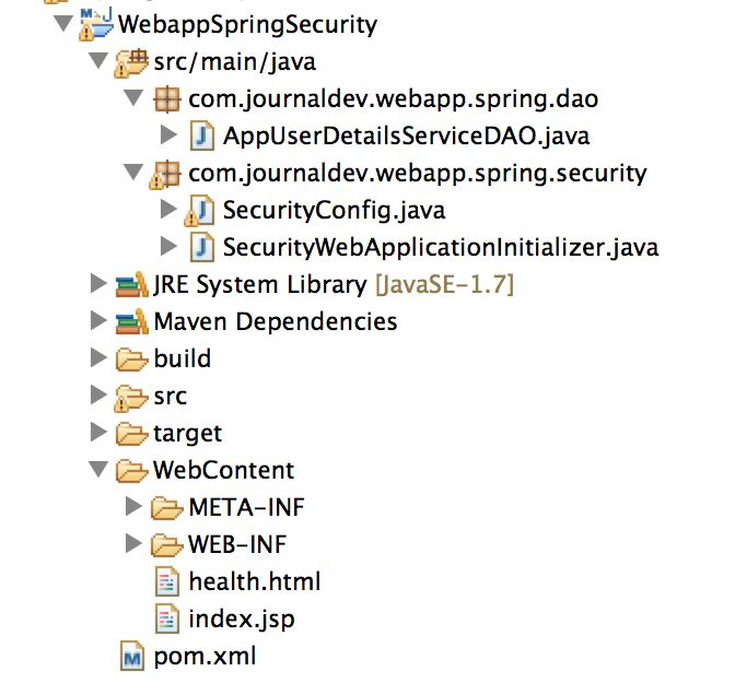 Spring Security Example Tutorial - JournalDev