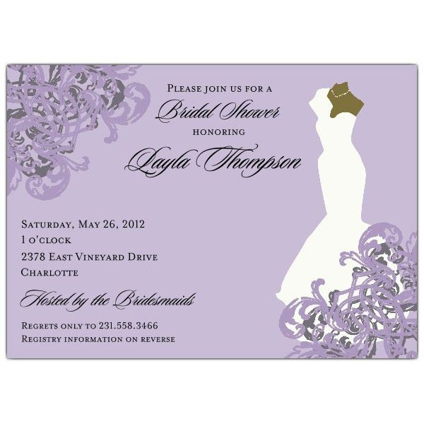 African American Bridal Shower Invitations | badbrya.com