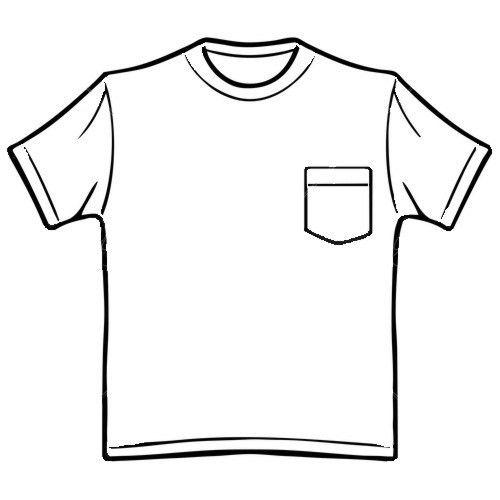 T-shirt Back Clip Art (55+)