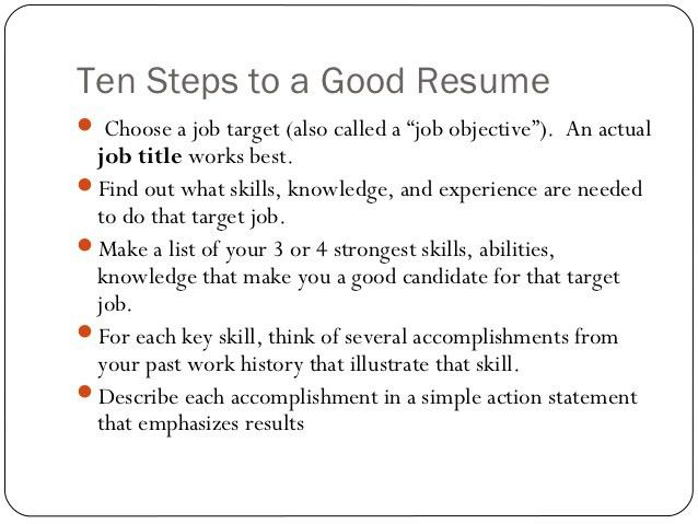 What Is A Job Title On A Resume #8083