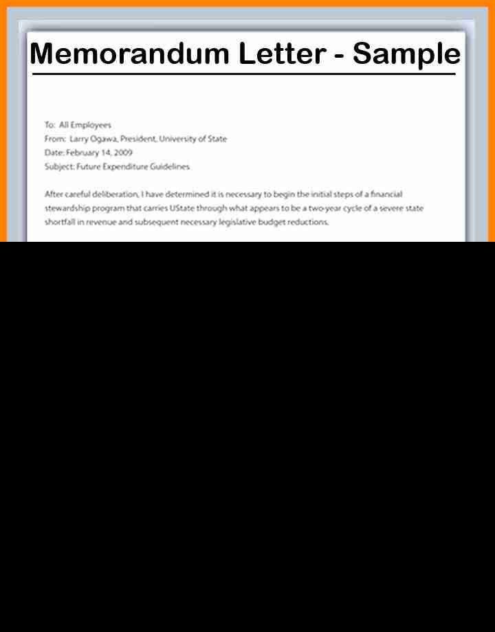 8+ format of memorandum letter | buyer resume