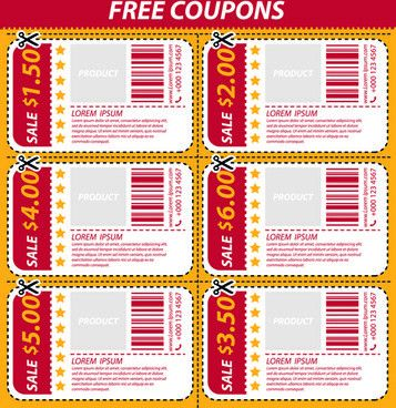 Coupon design free vector download (108 Free vector) for ...