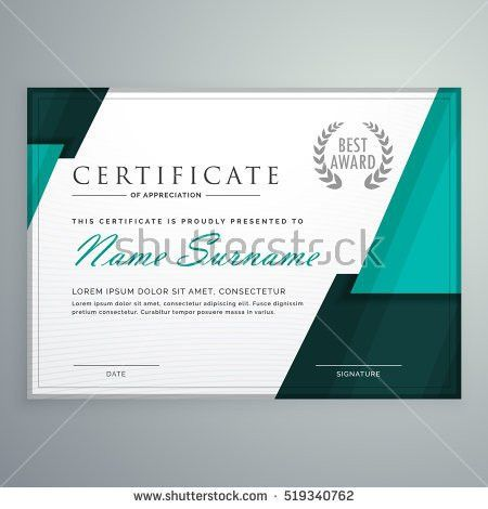 Certificate Design Stock Images, Royalty Free Images U0026 Vectors .  Creative Certificate Designs