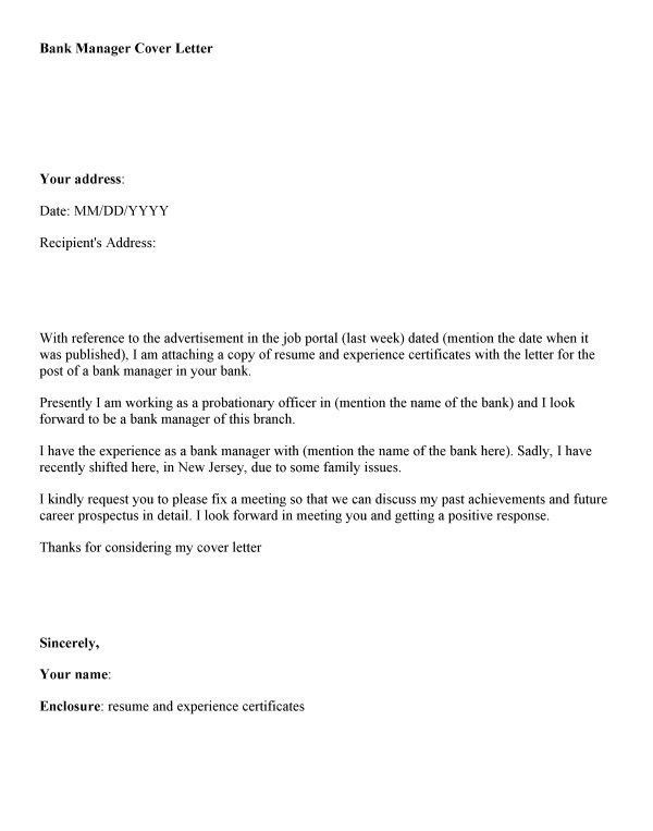 how to type a cover letter for a job application