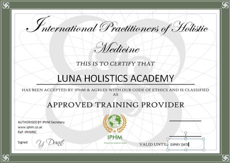 Accreditation for Holistic and alternative therapy course ...
