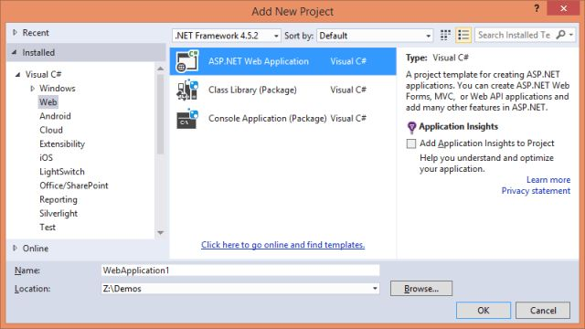 Your First MVC 6 and EF 7 Application (using Empty Project ...