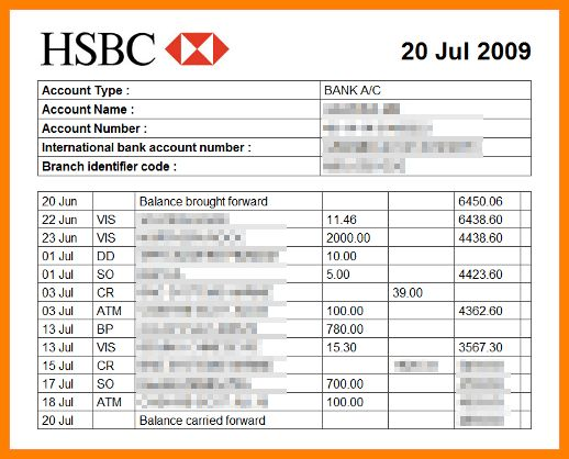 5+ bank statement template excel | synopsis example