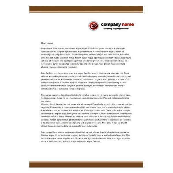 Business Letterhead Format | sanjonmotel