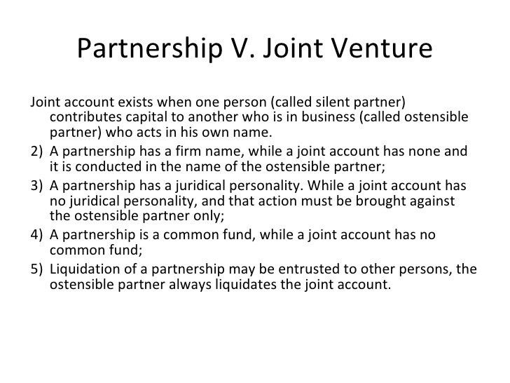 Report on Partnership (General Discussion)