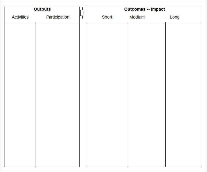 Blank Table Templates – 4 Free Word, PDF Documents Download ...