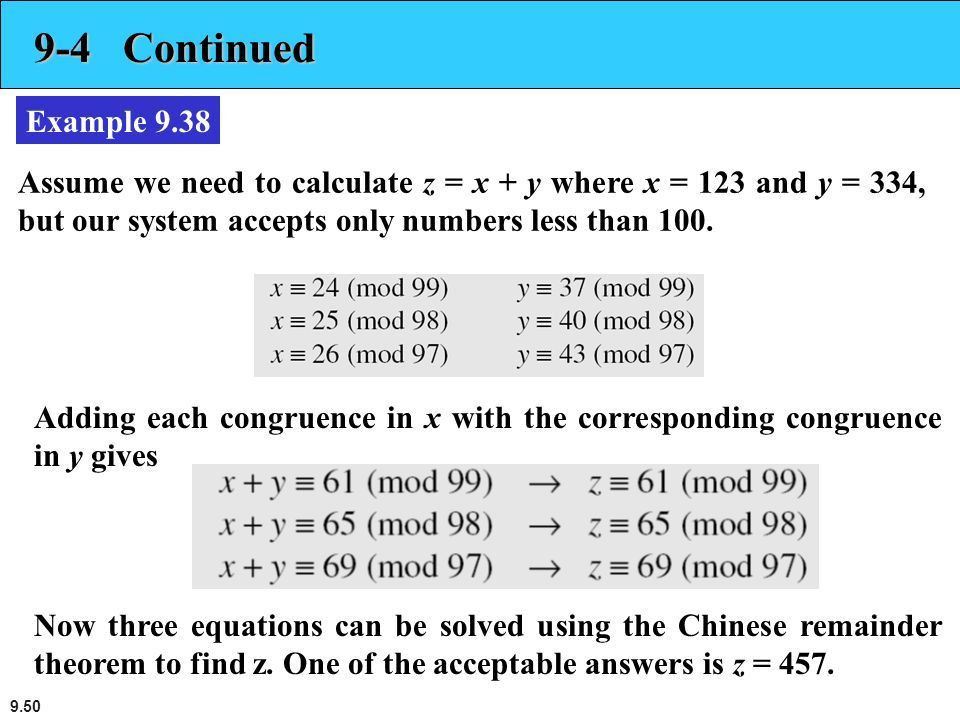 9.1 Primes and Related Congruence Equations 23 Sep ppt download