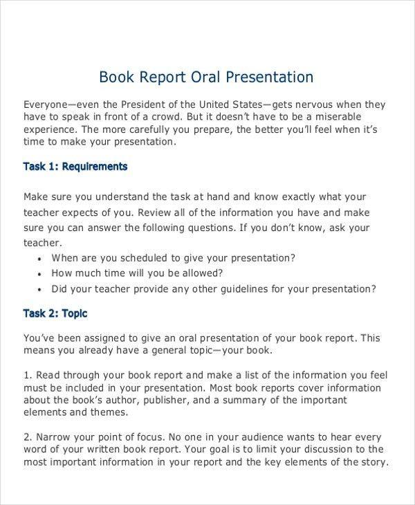 10+ Sample Book Report - Free Sample, Example, Format Download