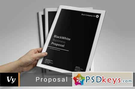 Business Proposal Template 130385 » Free Download Photoshop Vector ...