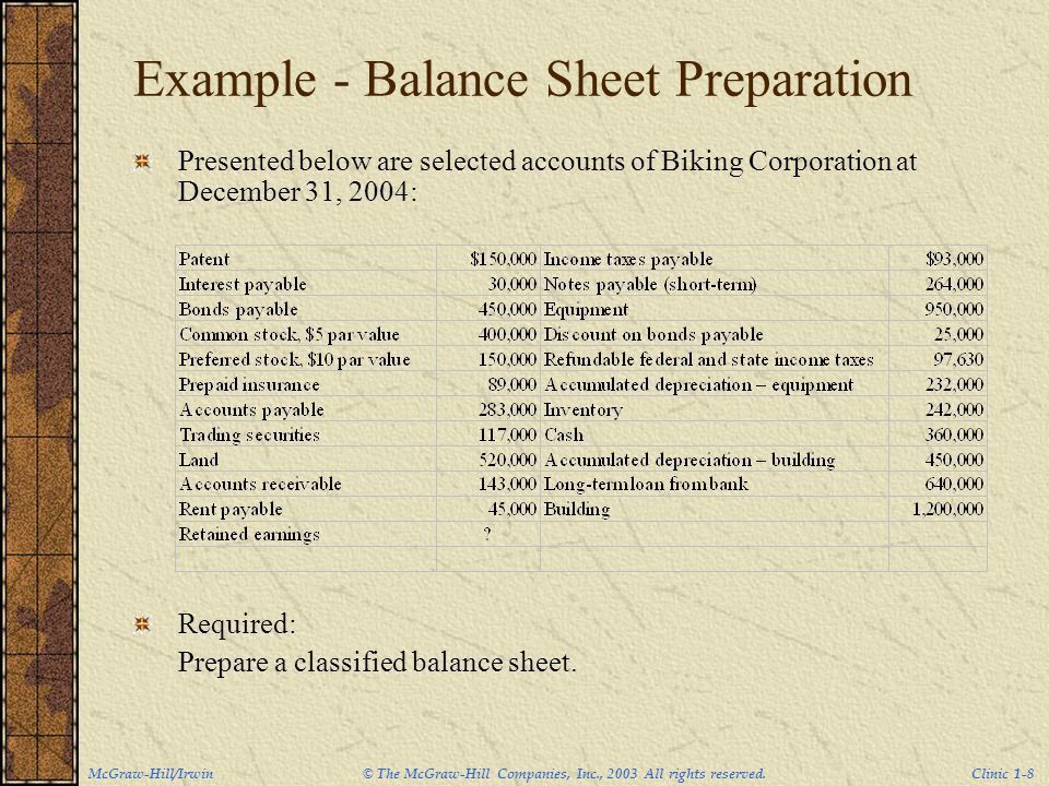 Accounting Clinic I. - ppt video online download