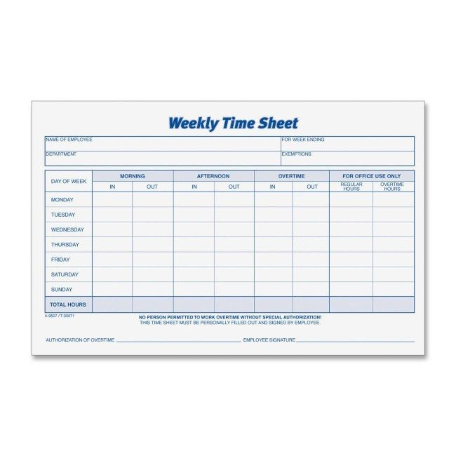 10 Best Images of Free Employee Timesheet Forms - Free Employee ...