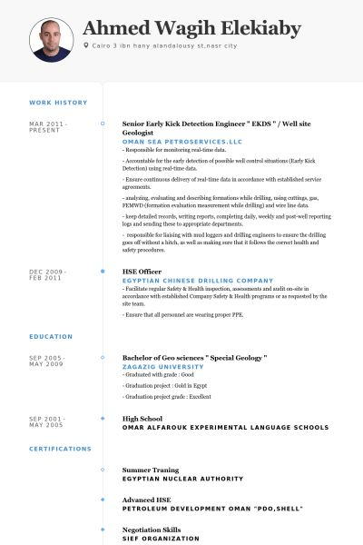 Download Geological Engineer Sample Resume | haadyaooverbayresort.com