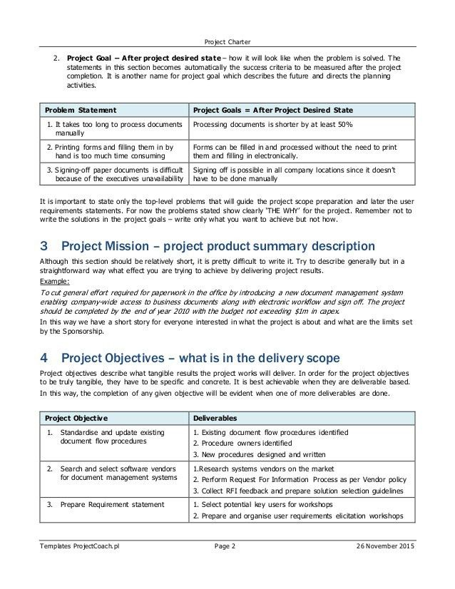 ERP/SAP Project Charter