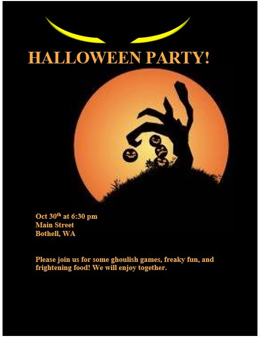 Halloween Flyer Templates | cyberuse