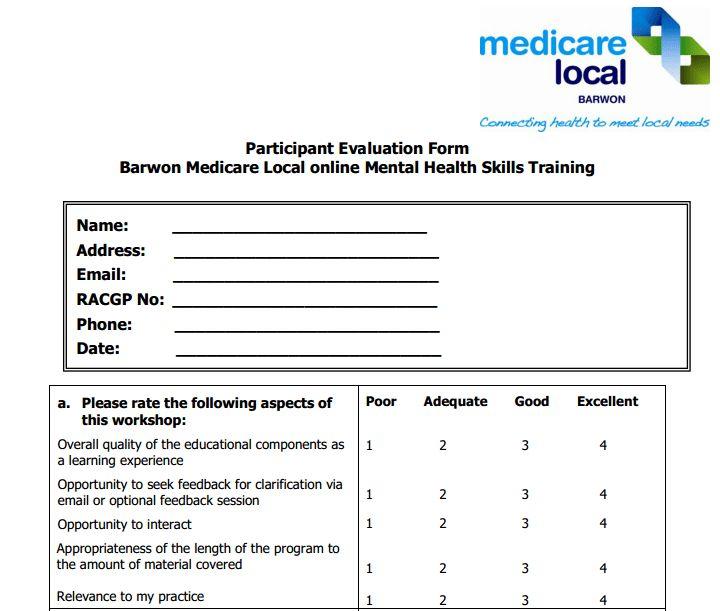 Performance Magazine Training-Evaluation-Survey-Mental-Health ...