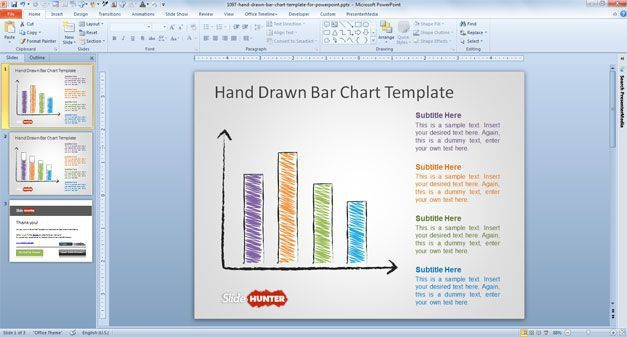 powerpoint graph templates best powerpoint templates with charts ...