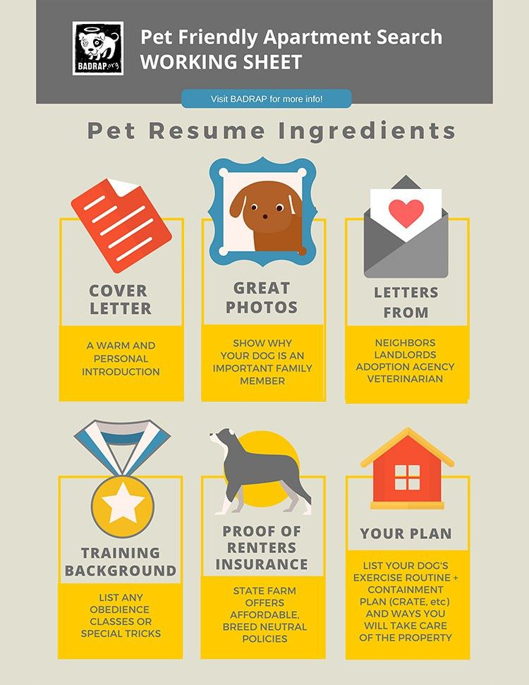 Renting with Your Dog | BAD RAP