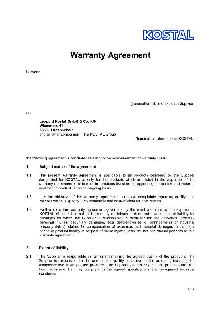 sample letter of agreement between two parties | Docoments Ojazlink