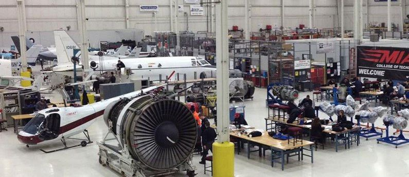 Aviation Mechanic School Programs - MIAT Michigan & Texas