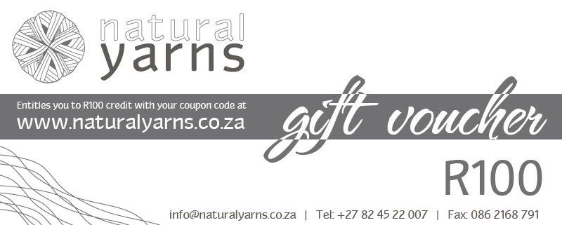 Gift Vouchers | Create your own value – Natural Yarns