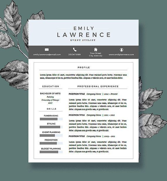 66 best Printables images on Pinterest   Cover letters, Resume ...