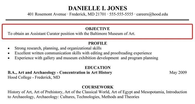 Resume Objective Example For College Students - Augustais