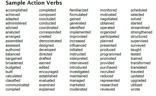 powerful resume skill phrases 20 powerful words to use in a