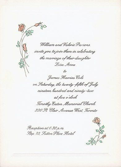 Wedding Invitation Letter - plumegiant.Com