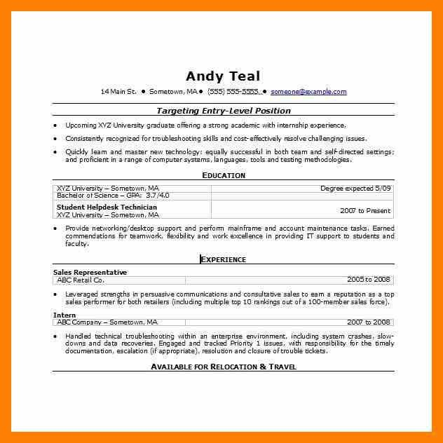 Resume Template Word Document. Download Bpo Call Centre Resume ...