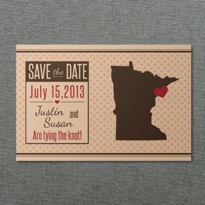Minnesota Save-the-Date Postcard Template – Download & Print