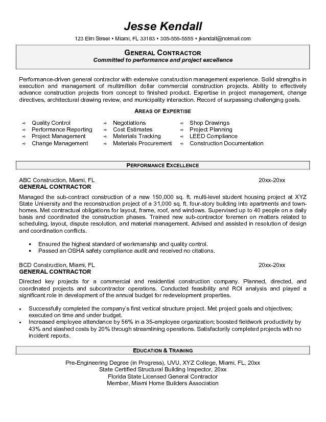 General Resume Objectives. General Objective For Resume Template ...