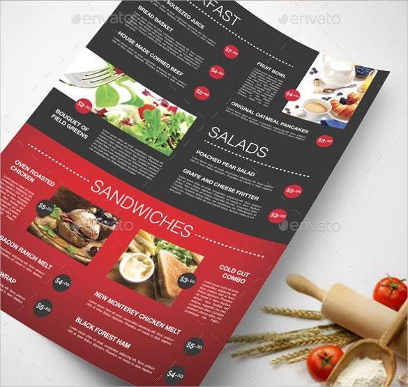 24+ Restaurant Menu Templates – Free Sample, Example Format ...