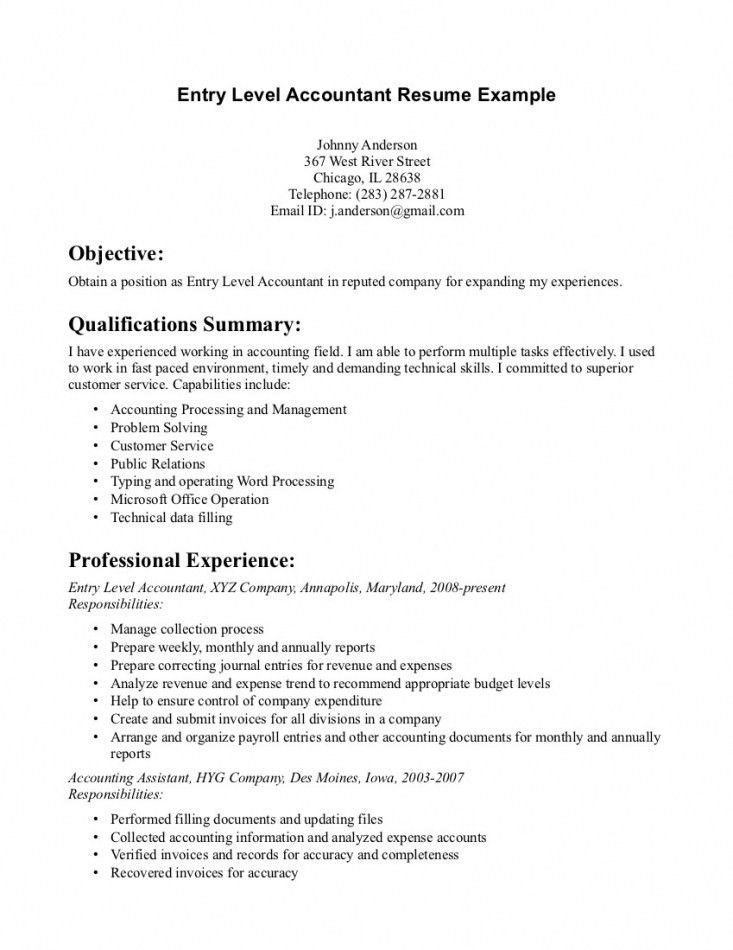 Cover Letter Accounting Examples