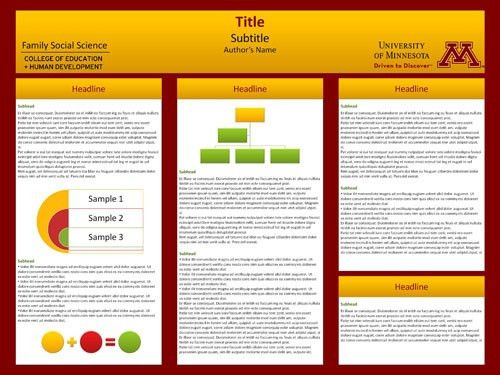 poster presentation template design poster presentation template ...