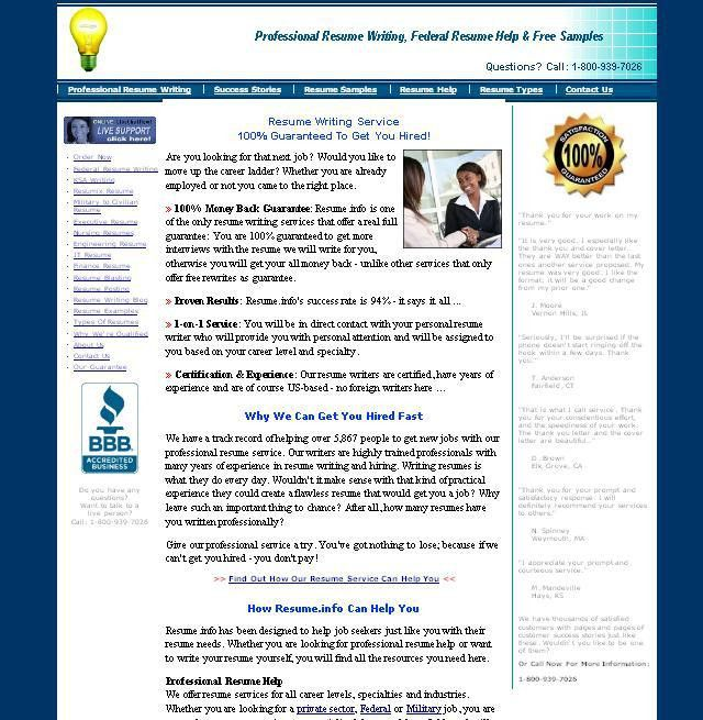 resume review service templates resume template builder http - Professional Resume Help