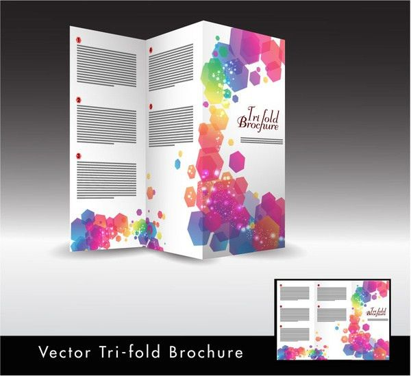 Trifold brochure templates publisher free vector download (13,634 ...