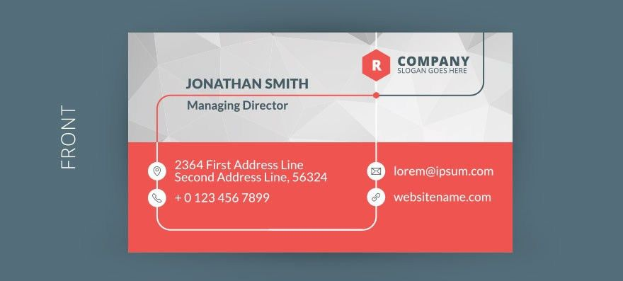 18 Best Free Business Card Templates - GraphicLoads
