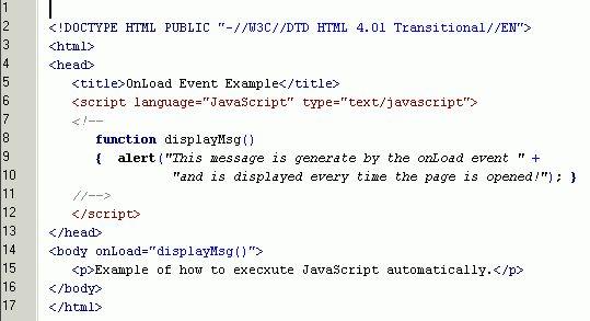 Java Script Lessons