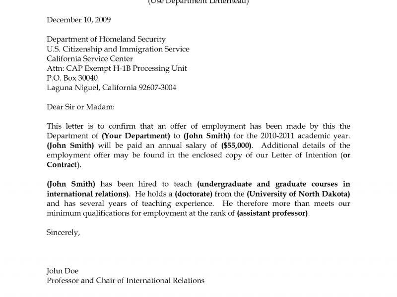 cover letter sample for position at a university letters i 130 ...