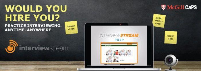 Job Interview   Career Planning Service - McGill University
